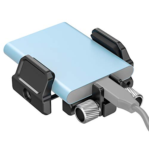 SMALLRIG SSD Beugel SSD Houder voor Samsung T5 SSD, Compatibel met SMALLRIG BMPCC 4K & 6K Z Cam E2-kooi – 2343