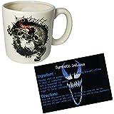 Bundle of 2: Embossed Venom Mug and Symbiosis Injection Recipe Card