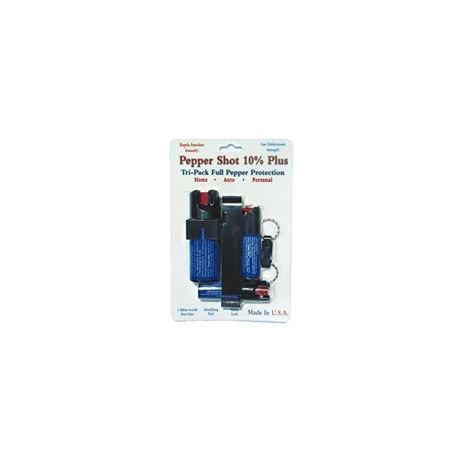 Pepper Shot Tri Pack 3 Pepper Sprays Save $$$