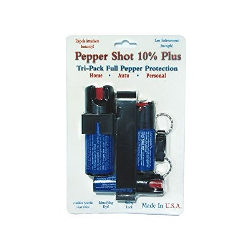 Pepper Shot Tri Pack 3 Pepper Sprays Save $$$
