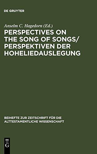Perspectives on the Song of Songs / Perspektiven der Hoheliedauslegung (Beihefte Zur Zeitschrift Fur die Alttestamentliche Wissenschaft) (English and German Edition)