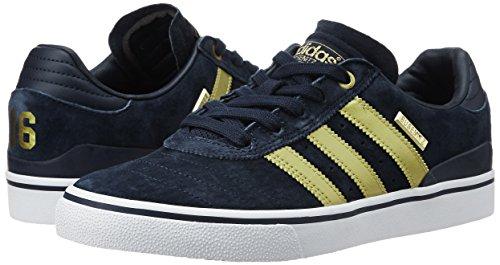 Herren Skateschuh adidas Skateboarding Busenitz Vulc ADV 10 YR Anni Skateschuhe collegiate navy/gold met/