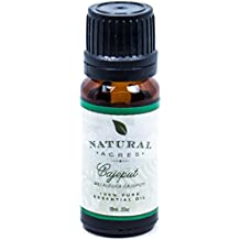 Cajeput Essential Oil - 100% Pure Therapeutic Grade Cajeput Oil by Natural Acres - 10ml