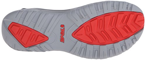 Teva Hurricane Xlt M's - Sandalias Hombre Gris - Grau (Geometric Grey/Red 899)