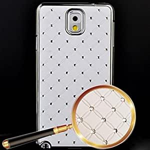 All Over The Sky Star Pattern Full Body Case for Samsung Galaxy Note 3 (Assorted Colors) , White
