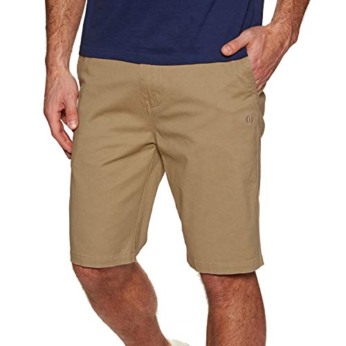 (Element Howland Classic Walk Shorts 28 inch Desert Khaki)