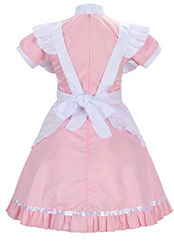 Donne Francese Double Cameriera Costume Villages Lolita Abito XL ApZZ4x
