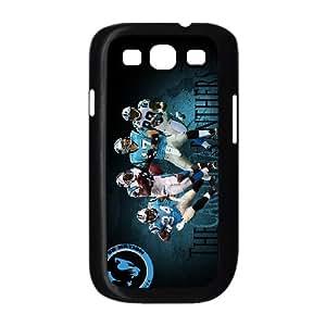 Carolina Panthers Team Logo Samsung Galaxy S3 9300 Cell Phone Case Black 218y3-216638
