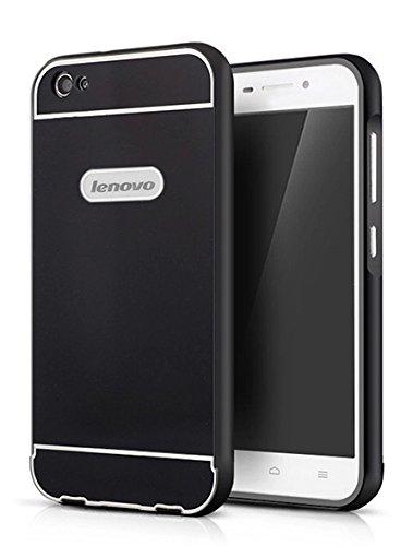 huge discount 118e6 6b932 Higar Royal Metal and Acrylic Hard Back Cover Case Bumper for Lenovo S60 -  Black