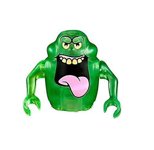 Minifigura de LEGO Ghostbusters - Slimer Dark Green Ghost (71241)