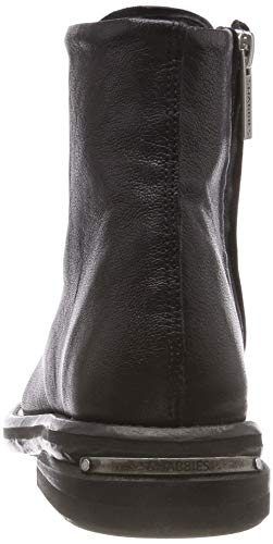 0001 Women''s Black black Ankle Boots Shabbies Shs0286 nUfqYwFF