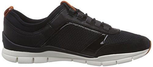 Geox D Sukie  - Zapatillas de deporte para mujer Anthracite/Black