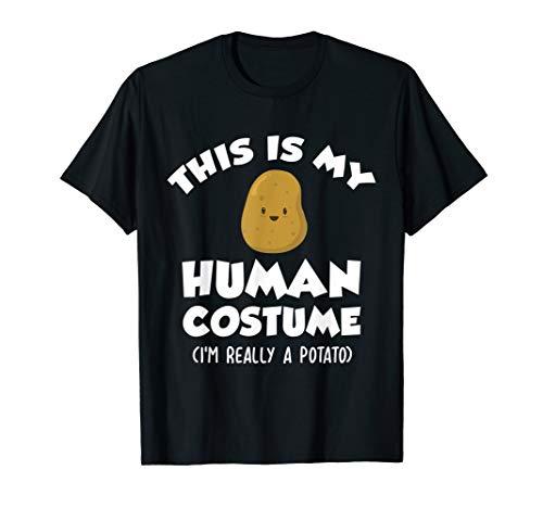 Funny Potato Costume Shirt | Cute Food -