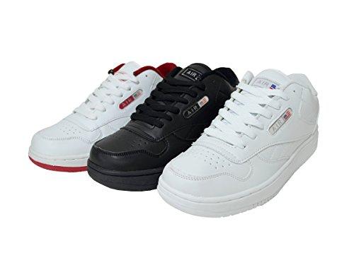 Baskets Mode Casual Classique Sport Hommes Running Chaussures De Sport Chaussures Noires