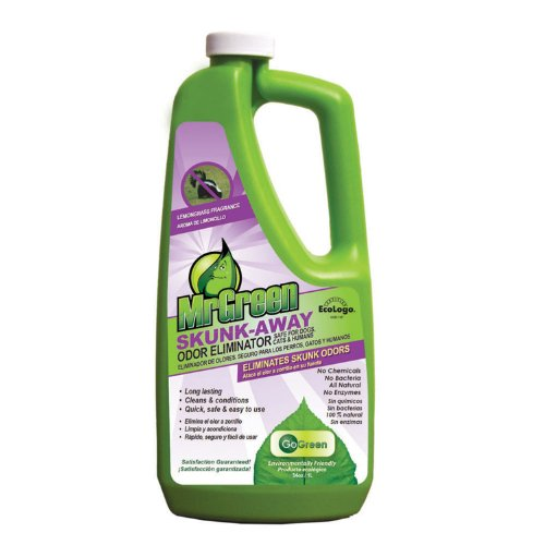 MrGreen Skunk Away Shampoo for Pets, 34-Ounce, My Pet Supplies