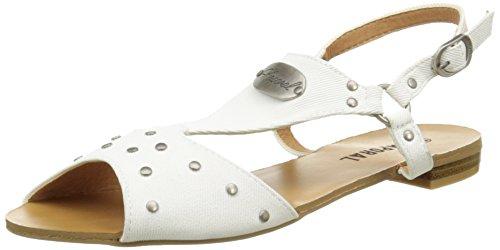 Sandalias Kaporal Mujer Paddy de Blanc Vestir qF6UF7wCW