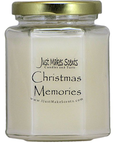 Christmas Memories (Cinnamon, Clove & Vanilla) Blended Soy Candle by Just Makes Scents …