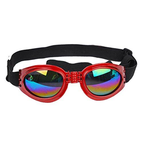 Baishitop Water-Proof Multi-Color Pet Sunglasses Goggles 13.22 lbs above Dog Sunglasses - Sunglasses Dog In