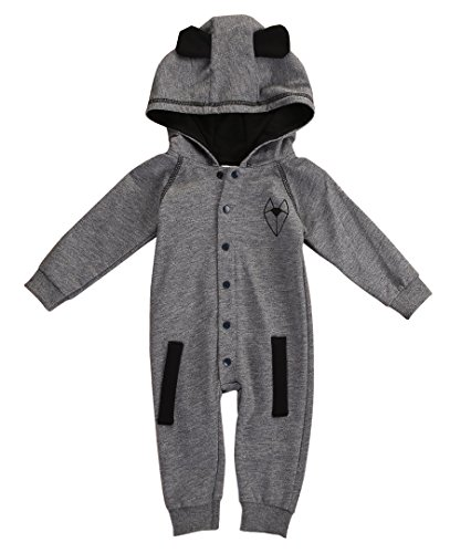 Newborn Baby Boy Girl Fox Hooded Clothes Outfits Rompers Playsuit 0-24M (0-6 Months) (Hooded Romper Newborn compare prices)