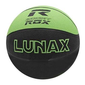 Rox Balon Baloncesto LUNAX - Talla 5 - Color Verde Fluor Y Negro ...