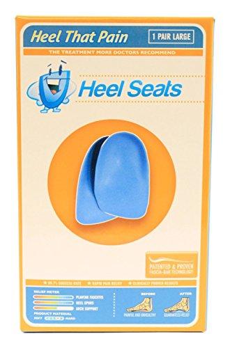 Talon Seat Coupe Inserts - talon Douleur - (Hommes 9-12; femmes 11+) Grand