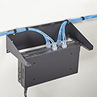 Black Box 6U FLUSHMOUNT WALL BRACKET W/M6 RAILS