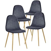 GreenForest Dining Chairs for Kitchen,Elegant Velvet Back...
