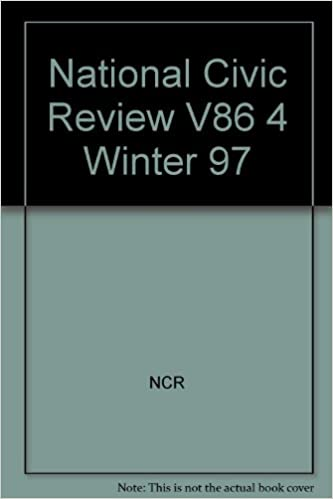 National Civic Review, No. 4, Winter 1997: The Role of