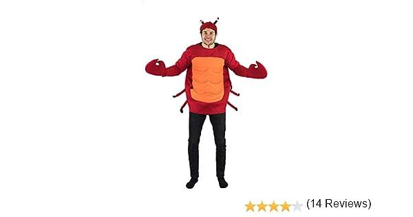 Bodysocks® Disfraz de Cangrejo Adulto: Amazon.es: Juguetes y juegos