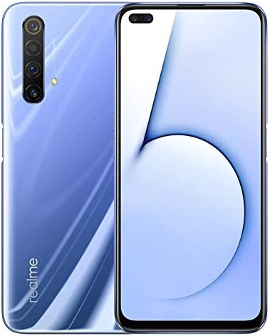 Original Realme X50 5G 8G+128GB MobilePhone Android 10 Global ROM 6.57 inch 120Hz Snapdragon 765G 5G Octa Core SuperVOOC 64MP NFC 4200mAh Support Google-by (CTM Global Store) (Purple)