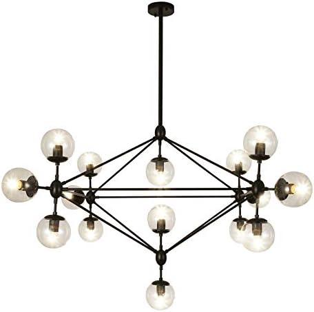 Luupyia Mid Century Sputnik Light 15 Light