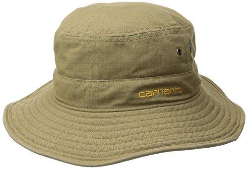Carhartt Mens Billings Boonie Hat Dark Khaki Medium Large