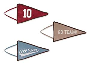 All Star Sports Wall Hanging Accessories by Sweet Jojo Designs