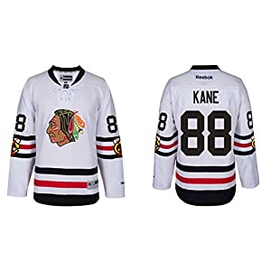 Chicago Blackhawks Adult Patrick Kane 2017 Winter Classic Premier Jersey - Team Color #88 ,
