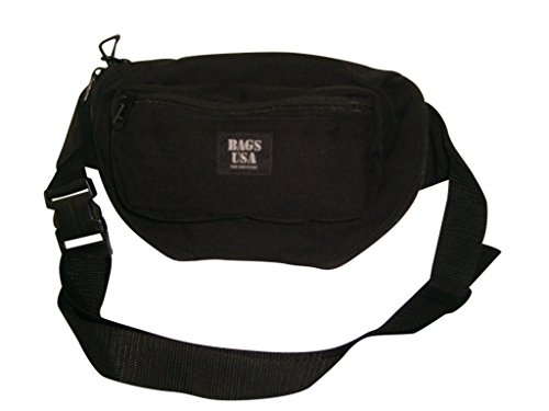 3' Small Revolver (LAW Enforcement,concealed Fanny Pack with Holster&magazine Holder (Black))