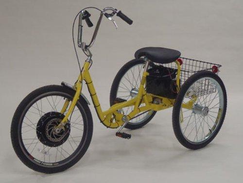 Commander Adult Pedal Trike w/36V Electric Hub Motor