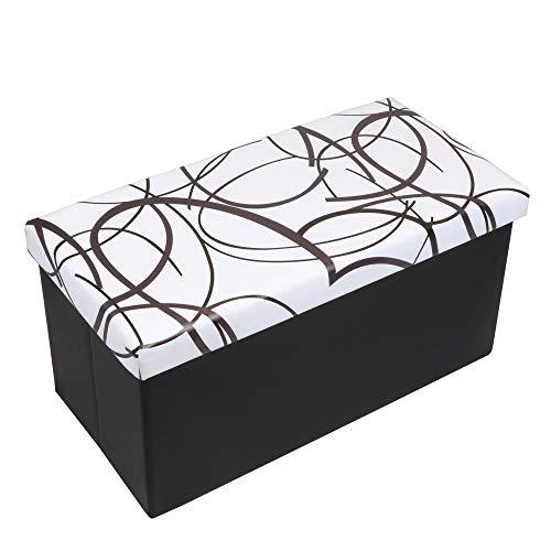 "Disney Collapsible Storage Trunk Toy Box Organizer Chest: Amazon.com: Otto & Ben 30"" Storage Folding Toy Box Chest"
