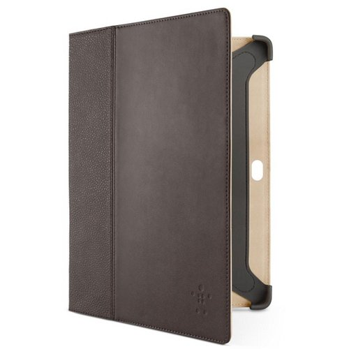 Cinema Folio Leather case with Stand - brown