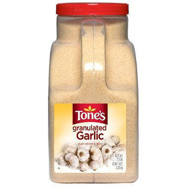 Tone's Granulated Garlic (7.25 lb.) (pack of 6)