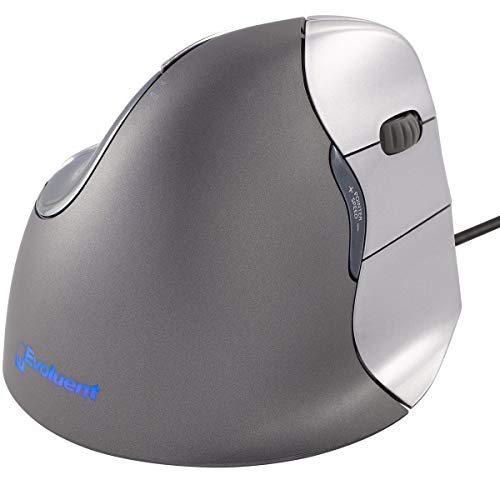 Evoluent VM4R VerticalMouse 4 Right Hand Ergonomic Mouse with Wired USB Connection