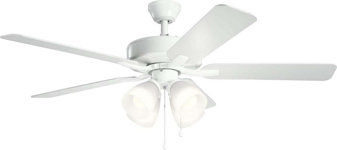 Kichler Lighting 360003MWH Ceiling Fan Light Kit