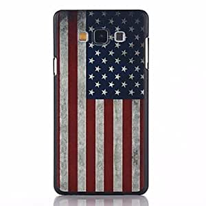 Flag of USA Pattern PC Hard Back Cover Case for Samsung Galaxy A7