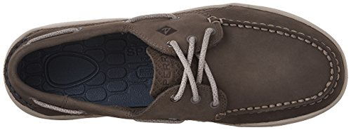 Sperry Top-sider Mens Gamefish 3-eye Scarpa Barca Grigio