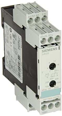 Siemens 3RP1560-1SQ30 Solid State Time Relay, Industrial