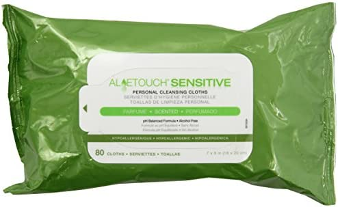 Amazon.com: Medline Aloetouch Select Premium Spunlace Personal Cleansing Wipes: Health & Personal Care
