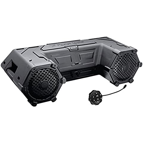 Planet Audio PATV85 Bluetooth, Amplified Sound System, Waterproof Speakers & Tweeters, Bluetooth Remote, Ideal For - 3 Light Jt System