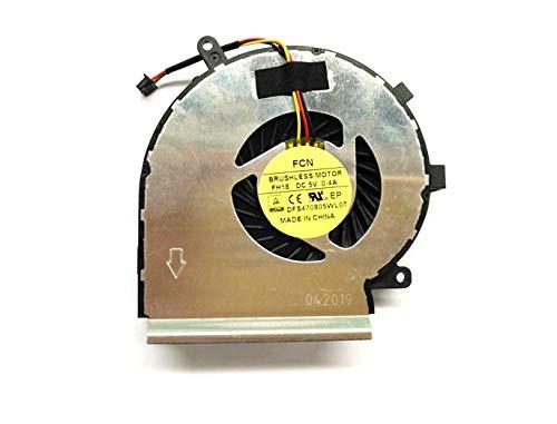Cooler Para Msi Ge62 Ge72 Gl62 Gl72 Pe60 Pe70 Series  Para Part Number Paad06015sl 0.55a 5vdc N285 (notes:this Is Fan  N