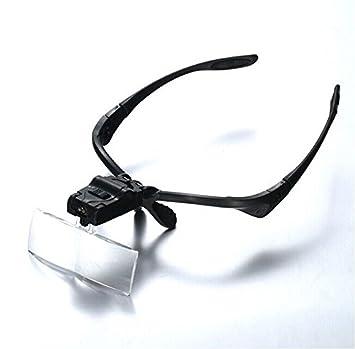 852251b257 Loupe en verre/Support mains libres lunettes loupe avec 2 lumières LED/5/