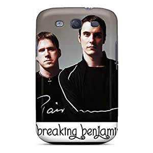 Samsung Galaxy S3 CHb18646mPvw Support Personal Customs Stylish Breaking Benjamin Band Image Shock-Absorbing Hard Cell-phone Case -MansourMurray