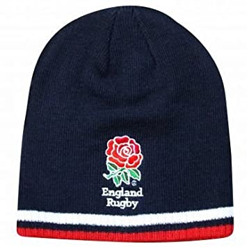 30144e322 Official England RFU Rugby Beanie Hat